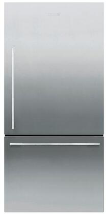 Fisher Paykel  RF170WDRJX5 Bottom Freezer Refrigerator Stainless Steel, Front View
