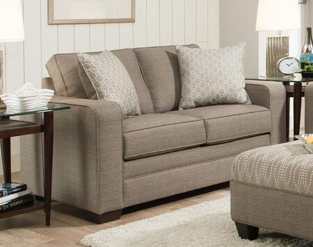 Acme Furniture Seguin 53811 Loveseat Beige, Loveseat