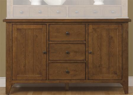 Liberty Furniture Hearthstone 382CB6183 Dining Room Buffet Brown, Main Image