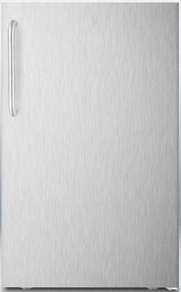 AccuCold CM421BLBI CM421BLXBISSTB Compact Refrigerator Stainless Steel, Main Image