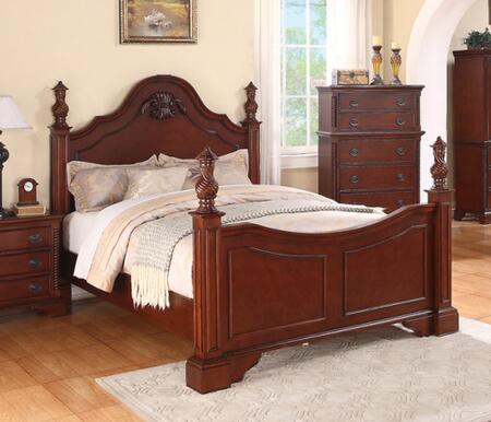 Meridian Manor MANORK Bed Bown, Main Image