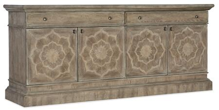 Hooker Furniture 5813-55 58135548080 52 in. and Up TV Stand, Silo Image
