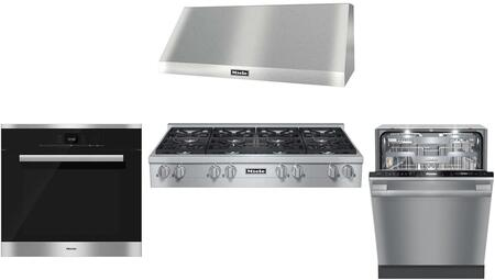 Miele  737153 Kitchen Appliance Package Stainless Steel, main image