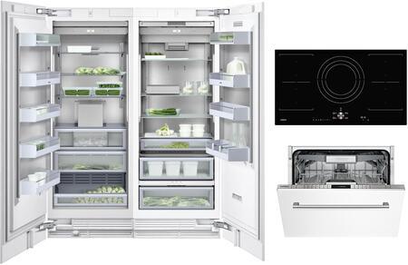 Gaggenau Deals 400 Series 1409153 Kitchen Appliance Package Panel Ready, Main image