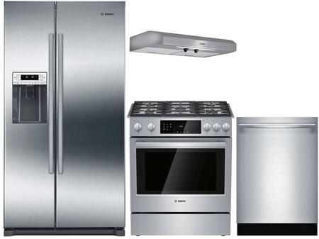 Bosch  902501 Kitchen Appliance Package Stainless Steel, main image
