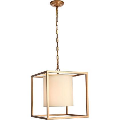 LD6005D16G Mirin 1 Light 16 inch Gold Pendant Ceiling