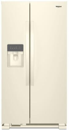 Whirlpool  WRS311SDHT Side-By-Side Refrigerator Bisque, Main Image