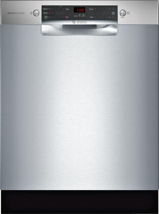 Bosch 300 Series SGE53X55UC Built-In Dishwasher Stainless Steel, Main Image