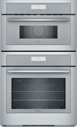Thermador Masterpiece MEM301WS Double Wall Oven Stainless Steel, MEM301WS 30-Inch Combination Wall Oven
