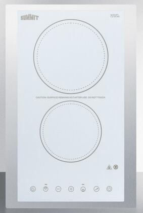 Summit  CR2B23T4WTK15 Electric Cooktop White, Main Image