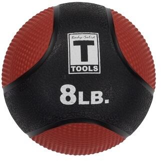 Body Solid Body Solid Tools BSTMB8 Fitness Ball Red, Main View
