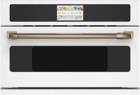 Cafe  CSB913P4NW2 Single Wall Oven White, Main Image