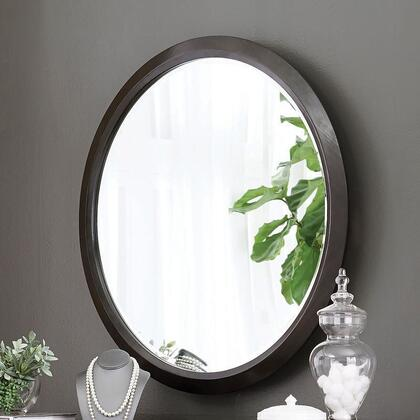 Formosa Collection 222828 36.25″ Vanity Mirror with Coaster's Exclusive Design  Circular Mirrors Come with Metal Wall Mount Brackets and Wooden