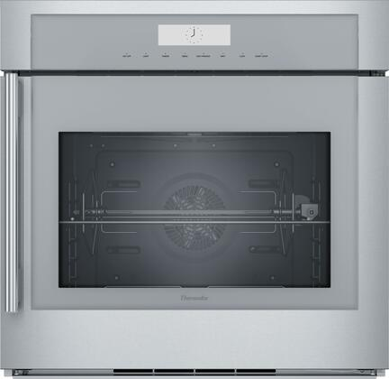 Thermador Masterpiece MED301RWS Single Wall Oven Stainless Steel, 30-Inch Single Built-In Oven with Right Side Opening Door