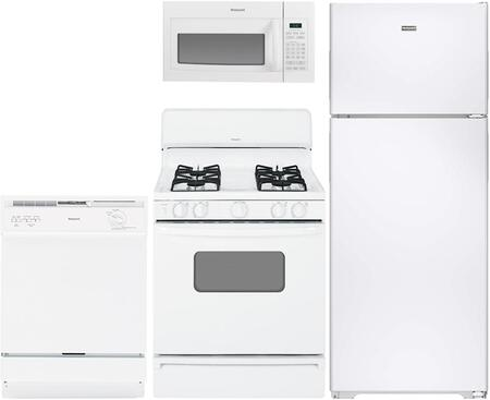 Hotpoint 890756 Kitchen Appliance Package & Bundle White, main image