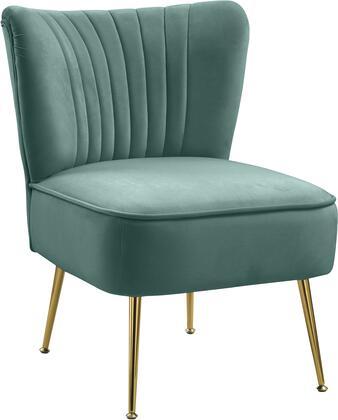 Meridian Tess 504MINT Accent Chair Green, 504Mint 1