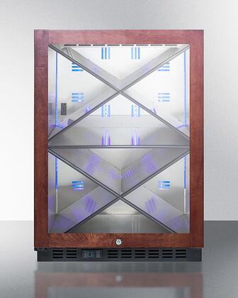 Summit  SCR610BLXPNRLHD Wine Cooler 26-50 Bottles Panel Ready, SCR610BLXPNRLHD Wine Cellar