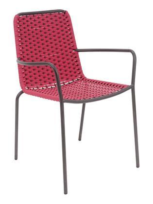 Florida Seating Palma PALMAPAHB Patio Chair Brown, dc palma high back anthracite pink