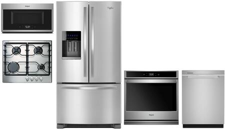Whirlpool  1017488 Kitchen Appliance Package Stainless Steel, Main Image