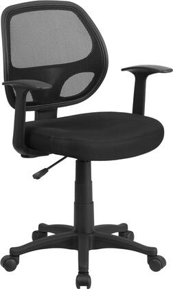 Flash Furniture  LFW118ABKGG Office Chair Black, Main Image