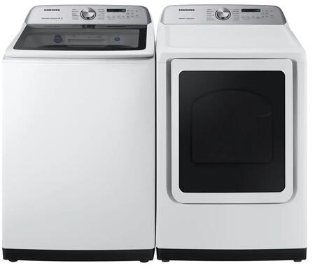 Samsung  1011215 Washer & Dryer Set White, 1