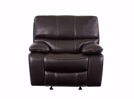 Global Furniture USA U0040 U0040ESPRESSOGR Recliner Chair Brown, Main Image