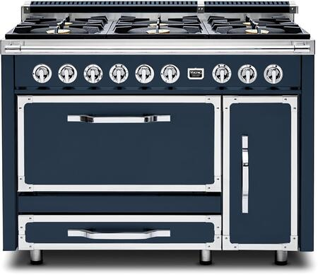 Viking Tuscany TVDR4816BSB Freestanding Dual Fuel Range Blue, Tuscany Range