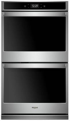 Whirlpool  WOD77EC7HS Double Wall Oven Stainless Steel, WOD77EC7HS Main Image