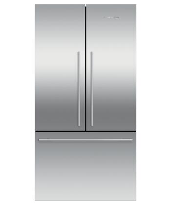 RF201ADJSX5 Contemporary Counter Depth French Door Refrigerator with 20.1 cu. ft. Total Capacity  Ice Only  in Stainless