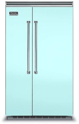Viking 5 Series VCSB5483BW Side-By-Side Refrigerator Blue, VCSB5483BW Side-by-Side Refrigerator