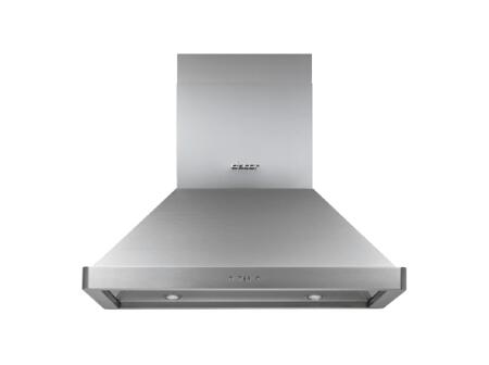Dacor Professional DHI361 Island Mount Range Hood Stainless Steel, Front View