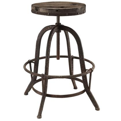Modway Collect EEI1208BRN Bar Stool Brown, Bar Stool