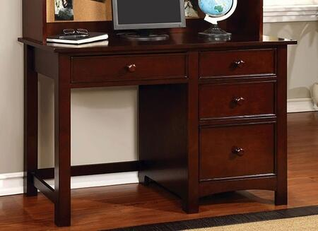 Furniture of America Omnus CM7905CHDK Desk , 1