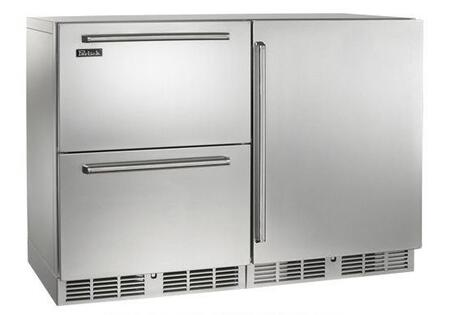 Perlick Signature HP48FRS51R Side-By-Side Refrigerator Stainless Steel, Main Image