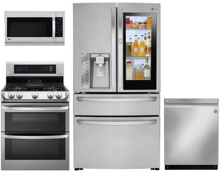 LG 1115491 Kitchen Appliance Package & Bundle Stainless Steel, main image
