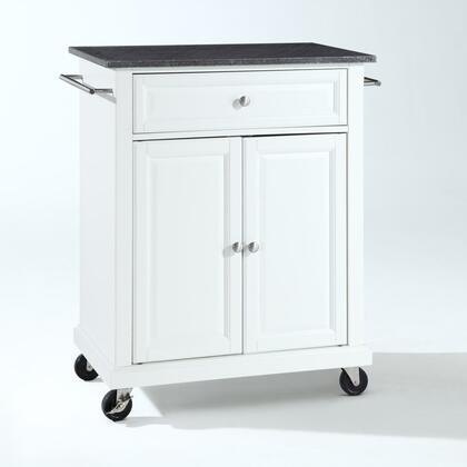 Crosley Furniture Compact Kitchen KF30024EWH Kitchen Cart White, KF30024EWH W1