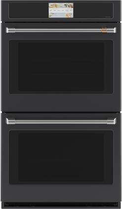 Cafe Matte Collection CTD90DP3ND1 Double Wall Oven Black, CTD90DP3ND1 Double Wall Oven