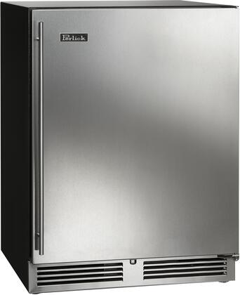 """HC24RB-3-2R 24"""" C-Series Indoor Right Hinge Undercounter Refrigerator with Solid Door 144 Can Capacity RAPIDcool Forced-Air 2 Pull Out Shelves"""