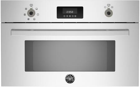 Bertazzoni Professional PROCS30X Single Wall Oven Stainless Steel, PROCS30X  30 Convection Steam Oven