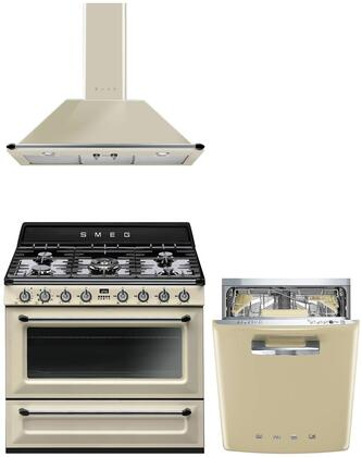 Smeg 1054507 Kitchen Appliance Package & Bundle Cream, main image