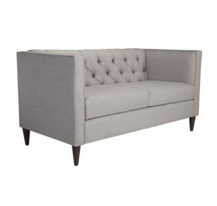 Zuo Grant 101192 Living Room Sofa Gray, 101192 Front