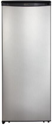 """DAR110A1BSLDD 24"""" Compact Refrigerator with 11.0 cu. ft. (311 L) Capacity Mechanical Thermostat Scratch Resistent Worktop Environmentally Friendly"""