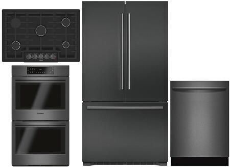 Bosch 980923 Kitchen Appliance Package & Bundle Black Stainless Steel, main image