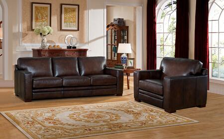 Hydeline Chatsworth CHATSWORTHSC Living Room Set Brown, 1