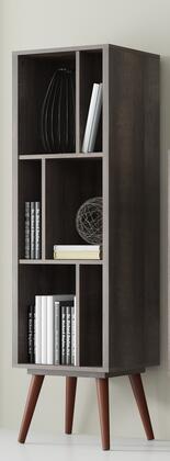 Ideaz International 23603WT Bookcase Brown, Main Image