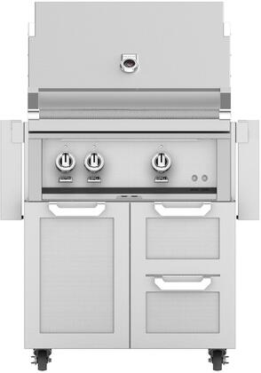 Hestan  852518 Natural Gas Grill Stainless Steel, Main Image