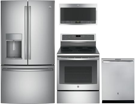 GE Profile 1088934 Kitchen Appliance Package & Bundle Stainless Steel, main image