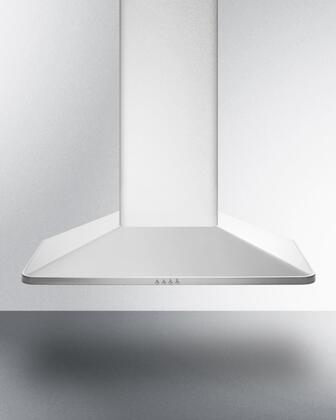 Summit Professional SEH3630 Wall Mount Range Hood Stainless Steel, SEH3630 Front View