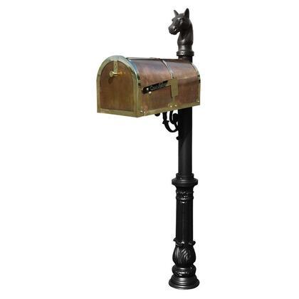 Qualarc Provincial MB3000POLLP701BL Mailboxes, MB 3000 POL LP701 BL