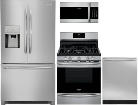 Frigidaire Gallery 1360782 Kitchen Appliance Package Stainless Steel, Main image